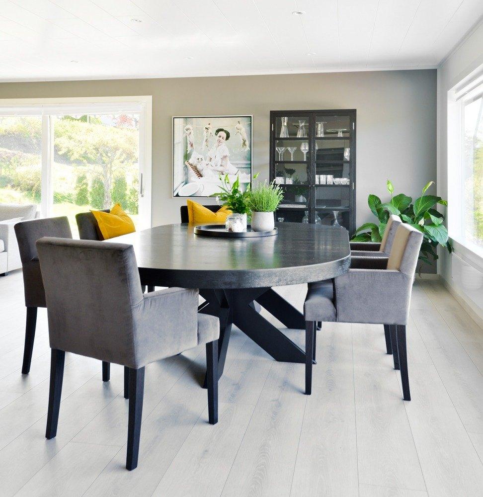 Picture of: Cross Rundt Spisebord Brubakken Home As
