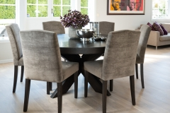 Gabriel Chairs with Round Cross table5248
