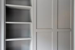 Garderobe i gang med skoreol00847