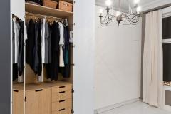Garderobe stram høy åpen8363