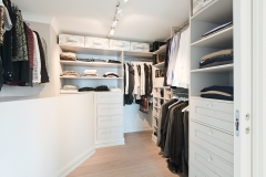 Walk in garderobe