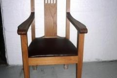 Grape Eikestol med armlener
