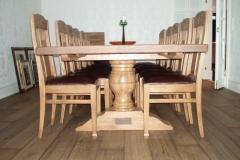 Grape eikestoler med bord