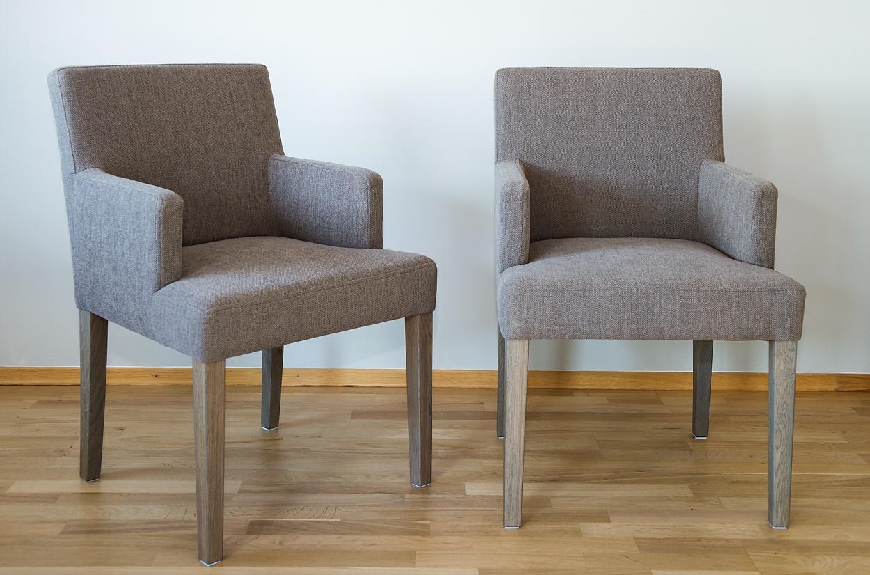 Spisestuestoler med armlener | Flotte spisestoler med armlener