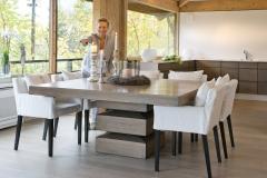 Millea Kvadratisk bord med stoler7616