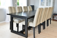 Tuscany spisebord med Trendy stoler06247