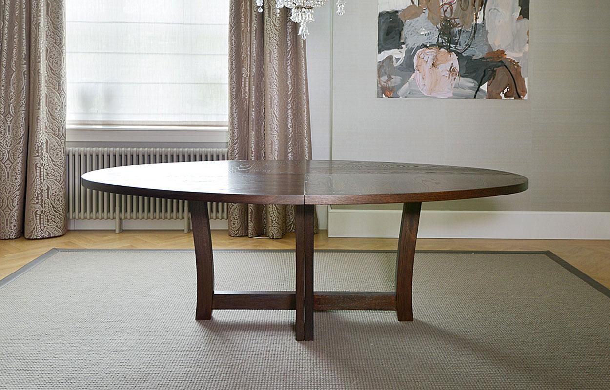 Runde og ovale spisebord - Brubakken Home AS