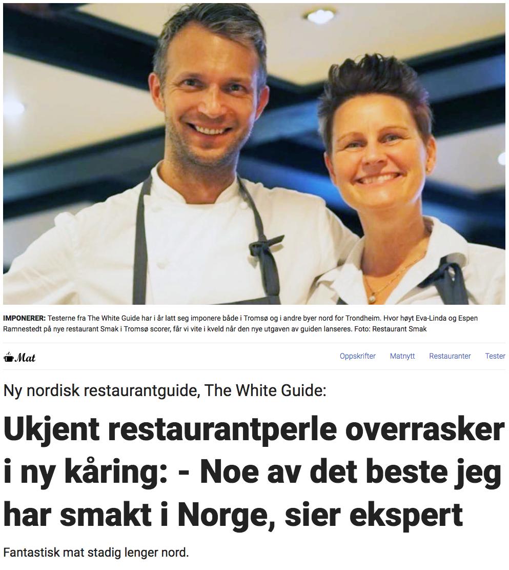 Restaurant Smak i Tromsø