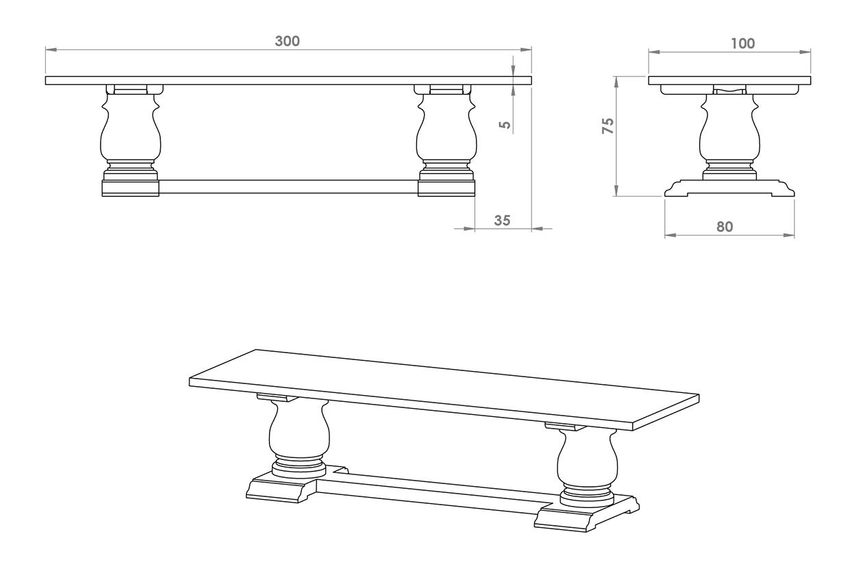 eksempel bessie spisebord